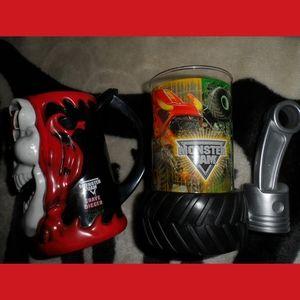 Gildan Dining Grave Digger Cup Bundle Poshmark